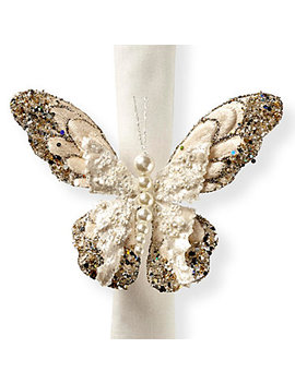 Butterfly Napkin Ring   Set Of 4 by Z Gallerie