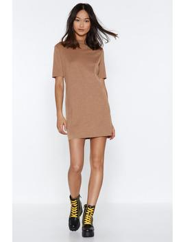 Knit With Us Tee Dress by Nasty Gal