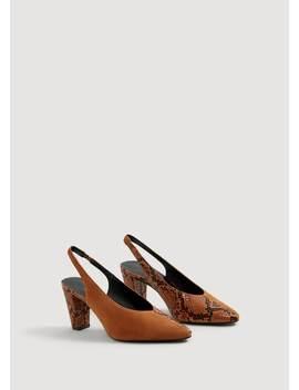 Buty Skórzane Bez Pięty by Mango