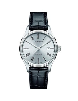 Hamilton Men's Analogue Automatic Watch With Leather Strap H39515754 by Hamilton