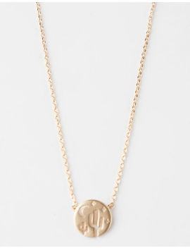 Full Tilt Cactus, Moon & Stars Necklace by Full Tilt
