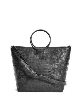 Keaton Crescent O Ring Satchel by Guess