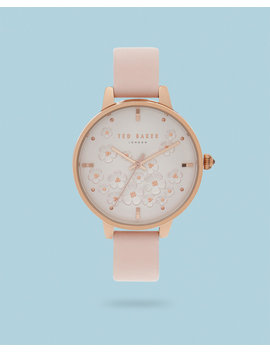 Te50005023 Floral Dial Watch by Ted Baker