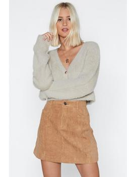 Cord Of You Mini Skirt by Nasty Gal