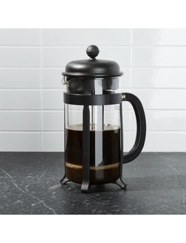 Bodum ® 8 Cup Java Black French Press Coffee Maker by Crate&Barrel