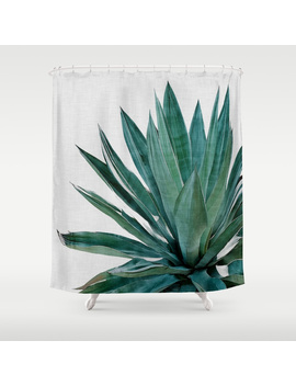 Agave Cactus Shower Curtain by
