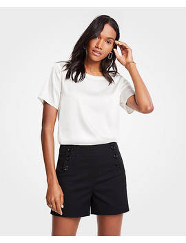 Sailor Button Shorts by Ann Taylor