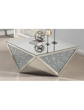 Best Quality Furniture Mirrored Coffee Table Ct50 by Best Quality Furniture
