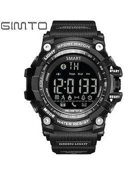 Gimto Digital Men Sport Bluetooth Smart Watch Pedometer Call Remind Water Resist by Gimto