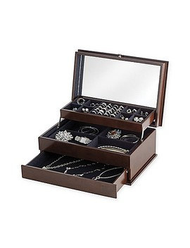 Lori Greiner® Auto Open Safekeeper Jewelry Box by Bed Bath And Beyond