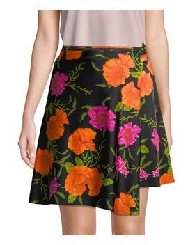 Balenciaga Floral Wrap Skirt by Balenciaga