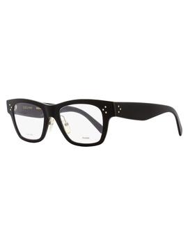Celine Rectangular Eyeglasses Cl41428 06z Size: 49mm Black 41428 by Celine
