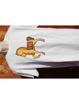 Graphic Retro Art Vintage Mens T Shirt Cotton , S,M,L,Xl, Usc Horse by Gildan