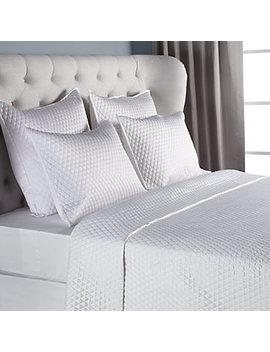 Avalon Bedding   White by Z Gallerie