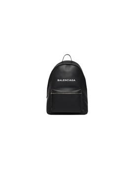 Balenciaga Men's  Black Leather Backpack by Balenciaga