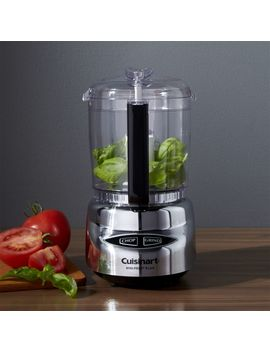 Cuisinart ® Stainless Steel Mini Prep Plus by Crate&Barrel