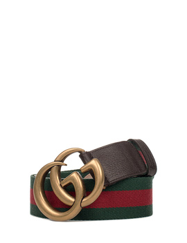 Gucci Women's  Brown Leather Belt by Gucci