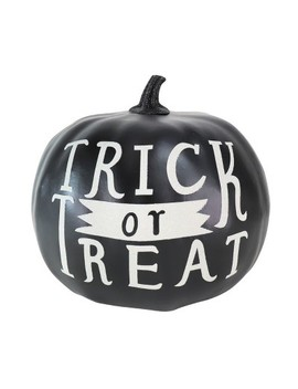 Large Trick Or Treat Halloween Pumpkin Glitter Black   Hyde And Eek! Boutique™ by Shop This Collection