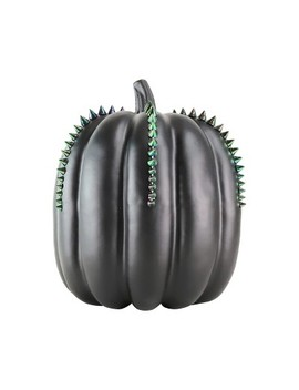 Large Halloween Metallic Studded Pumpkin Black   Hyde And Eek! Boutique™ by Shop This Collection
