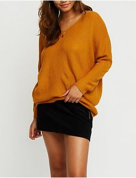 Dolman Pullover Sweater by Charlotte Russe