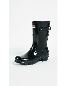 Original Short Gloss Boots by Hunter Boots