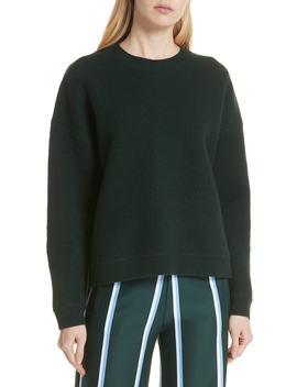 Drop Hem Wool Sweater by Tory Sport