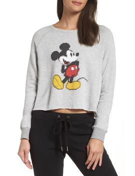 Disney Mickey Pixel Sweatshirt by David Lerner