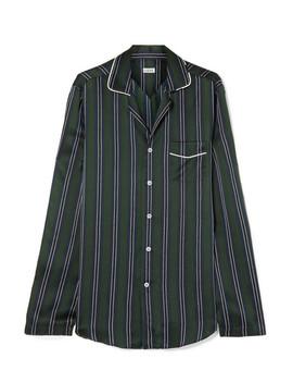 Striped Silk Charmeuse Shirt by Loewe