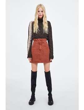 Elastic Waist Skirt  New Intrf by Zara