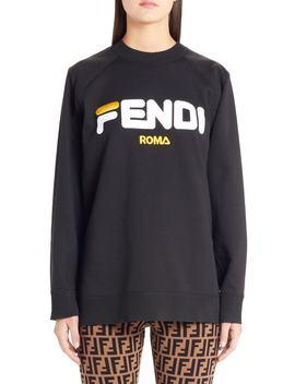 Sport Logo Sweatshirt by Fendi