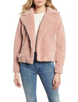 Faux Fur Moto Jacket by Mother