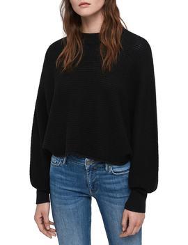 Gene Blouson Merino Wool Sweater by Allsaints