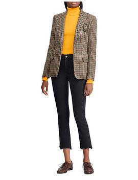 Turtleneck Puffed Sleeve Sweater by Lauren Ralph Lauren