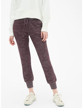 Softspun Brushed Joggers by Gap