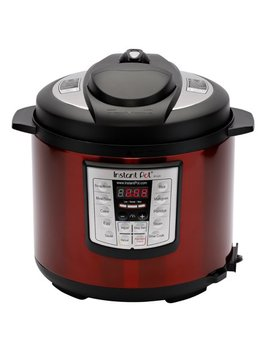 Instant Pot Lux60 Red Stainless Steel 6 Qt 6 In 1 Multi Use Programmable Pressure Cooker, Slow Cooker, Rice Cooker, Saute, Steamer, And Warmer by Instant Pot