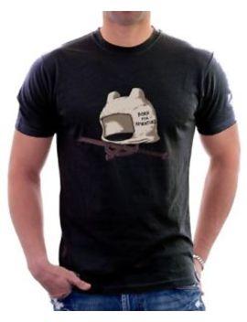 Adventure Time Finn The Human Hat Jake Black Brown Printed Cotton T Shirt 9704 by B&C