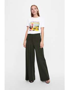 Graphic Printed T  Shirt Graphic & Prints T Shirts Woman by Zara