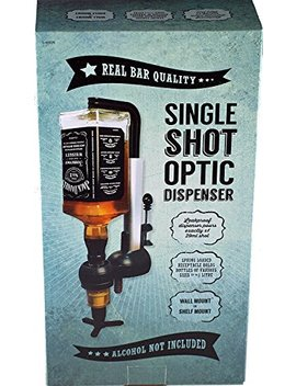 Dw Single Shot Optic Drink Dispenser   Pub Measures Novelty Gift by Dw