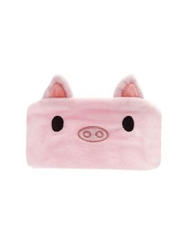 Soft Woven Pig Face Headwrap by Forever 21
