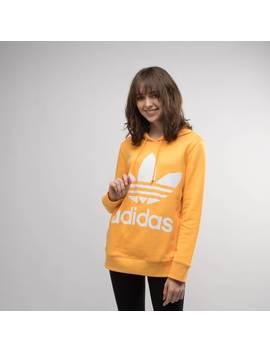 Womens Adidas Trefoil Logo Hoodie by Adidas