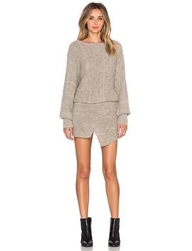 Lupuna Asymmetrical Sweater Dress by Ayni