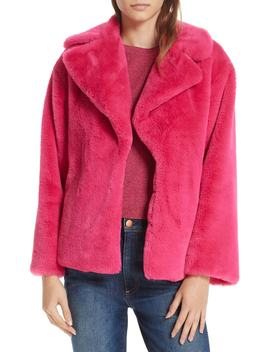 Thora Faux Fur Coat by Alice + Olivia