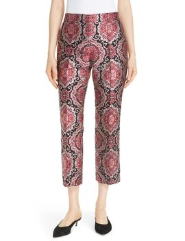Medallion Jacquard Kick Flare Pants by Kate Spade New York