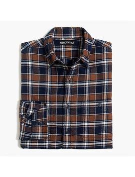 Slim Fit Flannel Shirt In Plaid by J.Crew