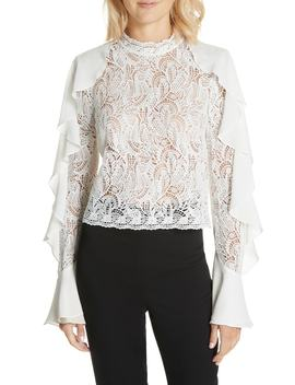 Ilana Lace Top by Amur