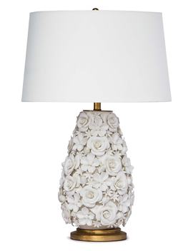 Regina Andrew Alice Porcelain Flower Table Lamp by Regina Andrew Design