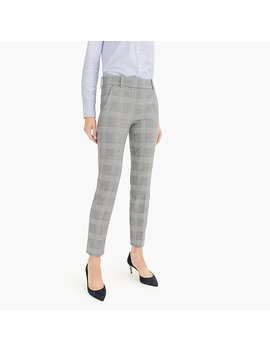 Cameron Pant In Glen Plaid Four Season Stretch by J.Crew