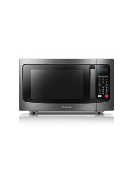 Toshiba Ec042 A5 C Bs Microwave Oven With Convection Function Smart Sensor And Led Lighting, 1.5 Cu.Ft, Black Stainless by Toshiba