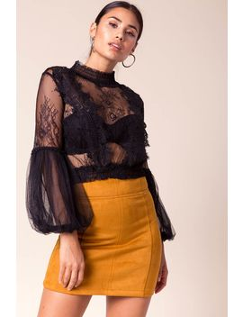 Natalia Sheer Top by A'gaci