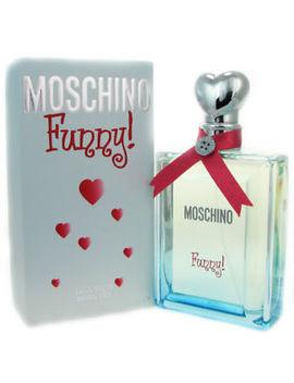 Moschino Funny For Women 3.4 Oz Eau De Toilette Spray Nib by Moschino